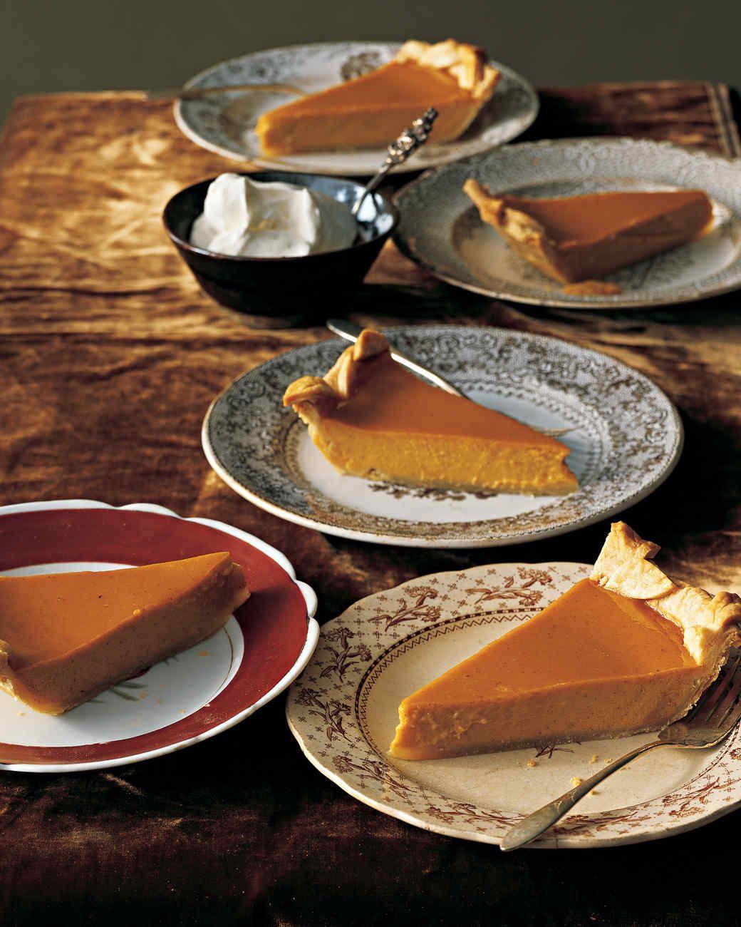 Classic Thanksgiving Desserts  Classic Pumpkin Pie Recipe