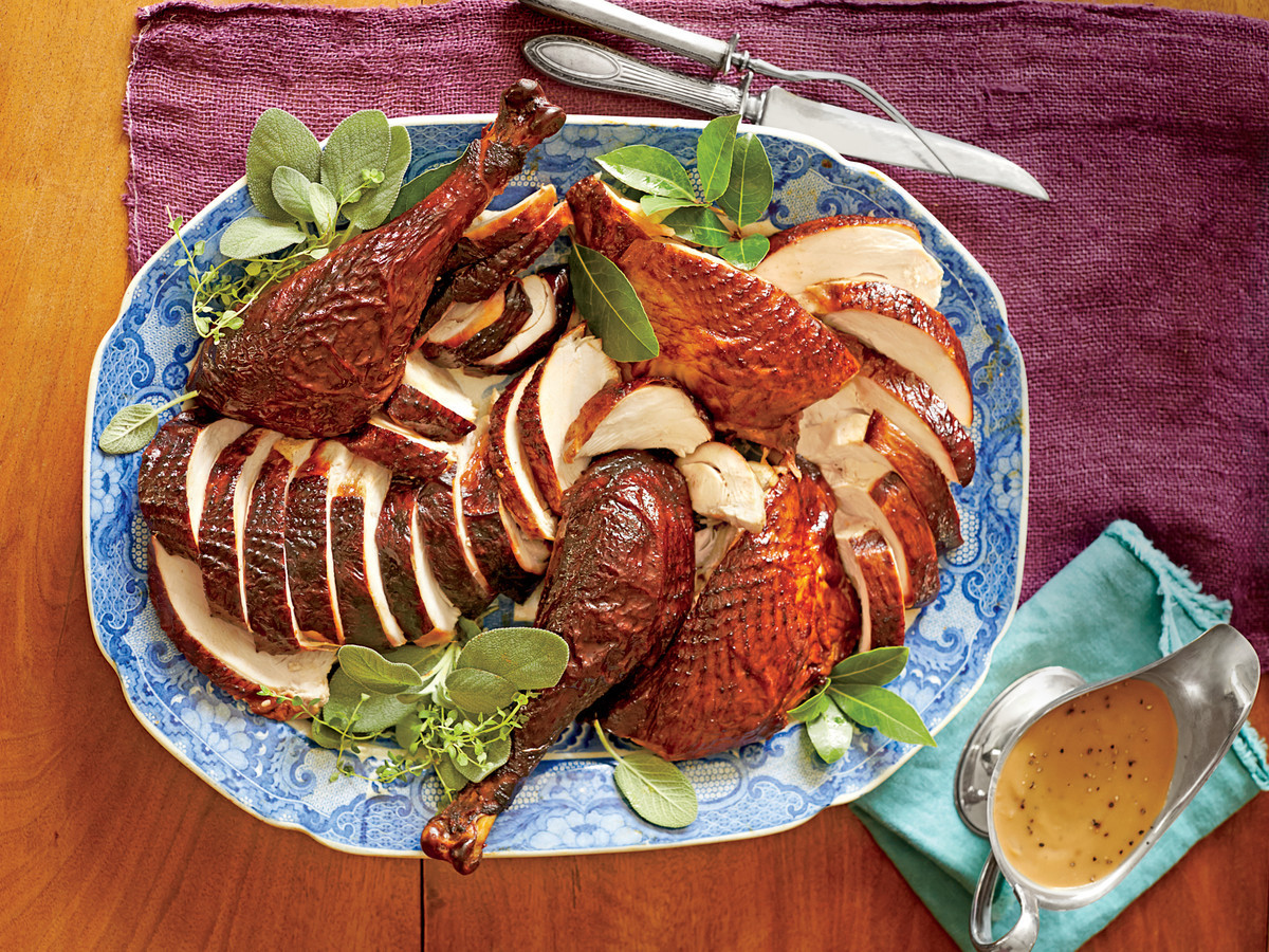 Cooking A Thanksgiving Turkey  Turkey Gravy Recipe Southern Living