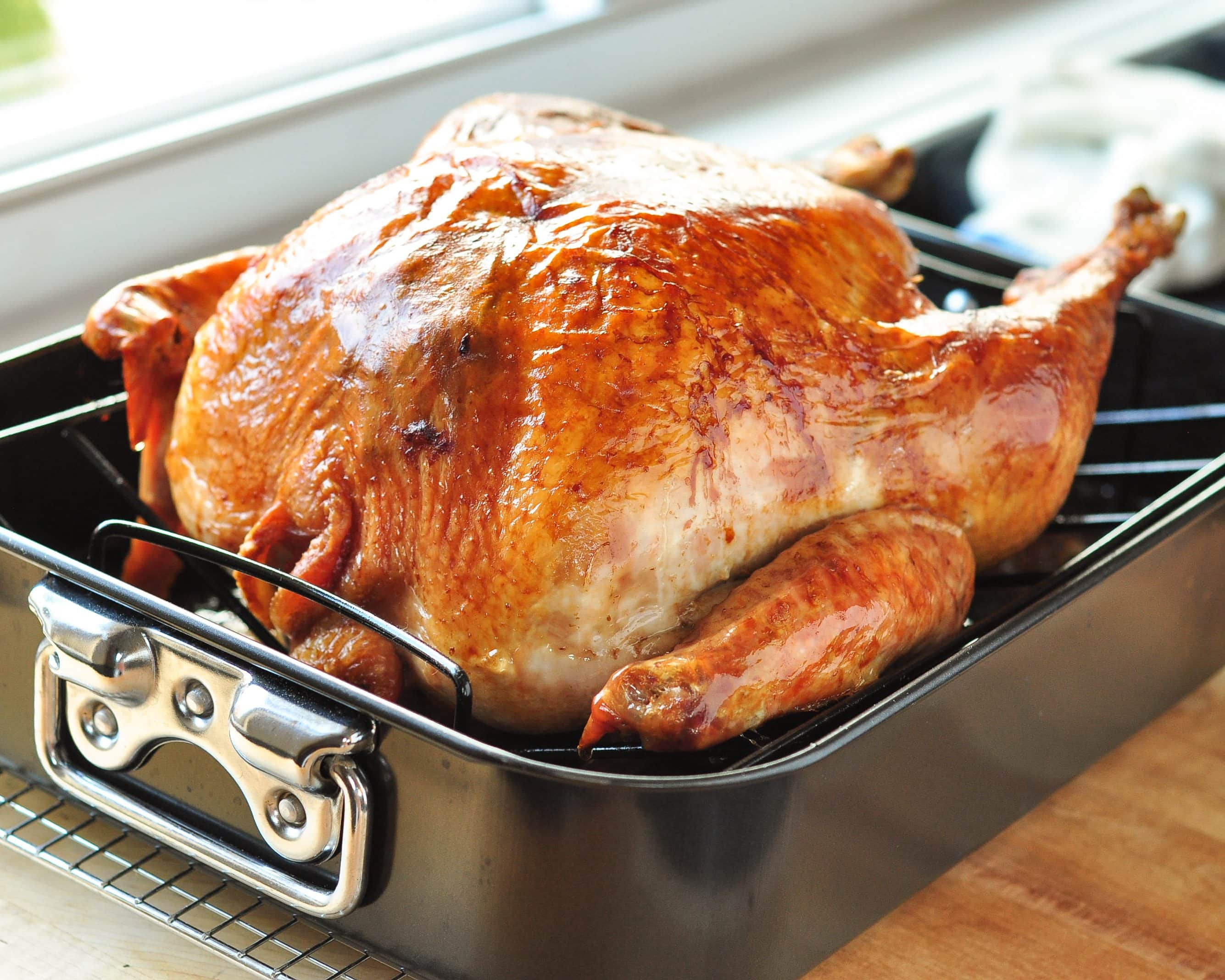 Cooking A Thanksgiving Turkey  How To Cook a Turkey The Simplest Easiest Method