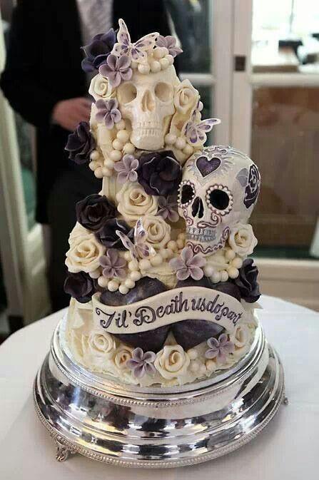 Cool Halloween Cakes  Halloween Theme Wedding Ideas