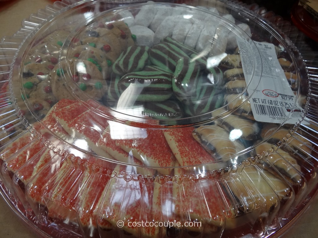 Costco Christmas Cookies  Holiday Cookie Tray