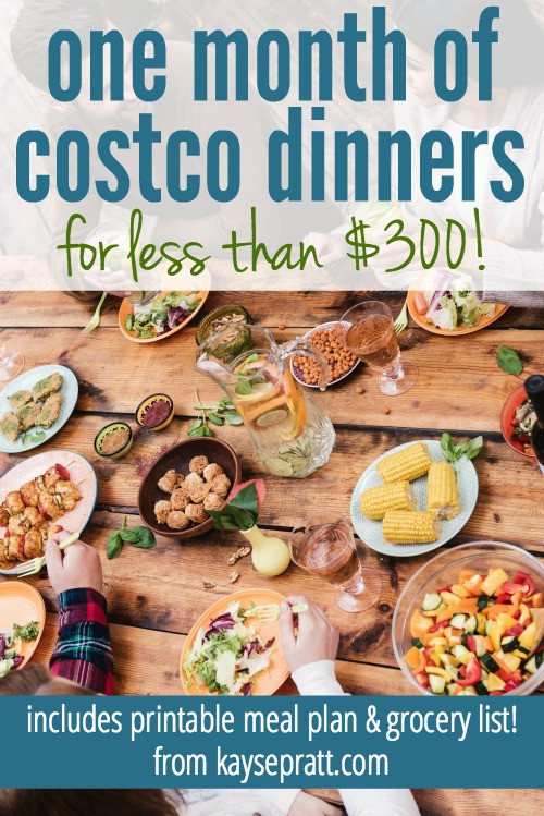 Costco Thanksgiving Dinner  e Month of Costco Dinners for less than $300 Money