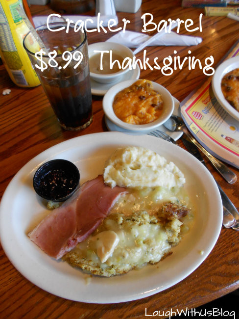 Cracker Barrel Thanksgiving Dinner  Our Thanksgiving Dinner