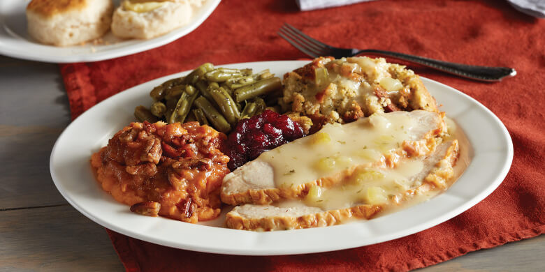 Cracker Barrel Thanksgiving Dinner  Lunch Specials