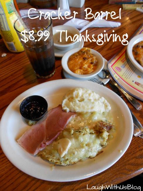 Cracker Barrel Thanksgiving Dinners  Our Thanksgiving Dinner