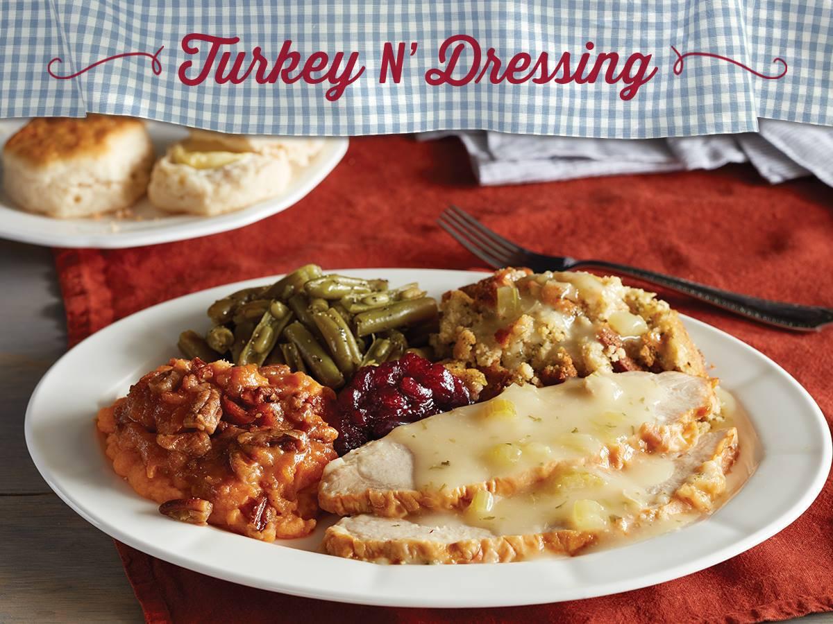 Cracker Barrell Thanksgiving Dinner  Get A Thanksgiving Dinner For $10 At Cracker Barrel
