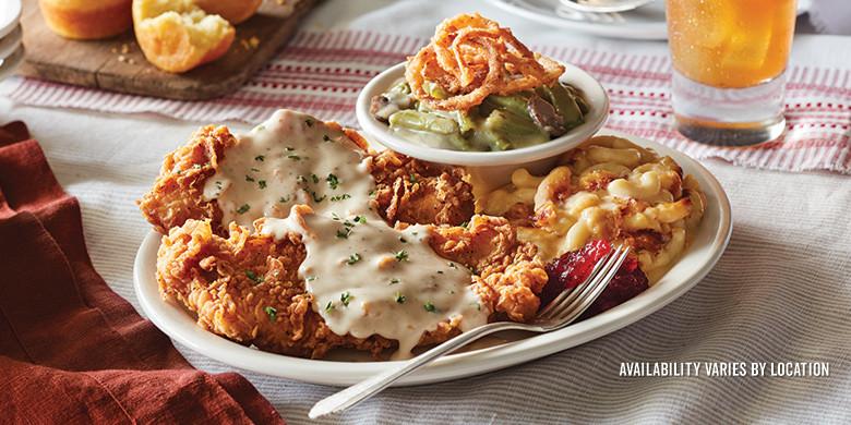 Cracker Barrell Thanksgiving Dinner  Lunch and Dinner Menu