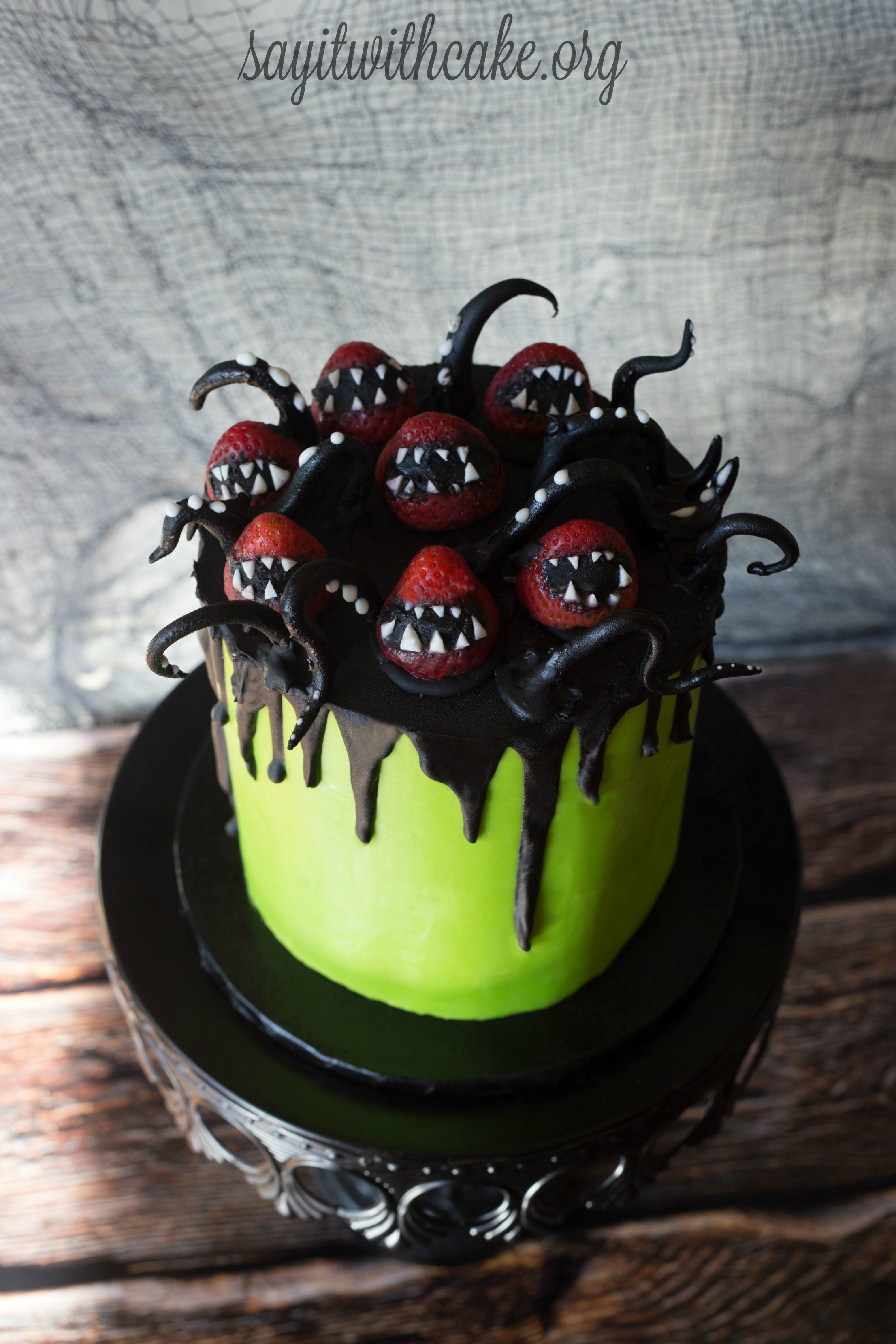 Creepy Halloween Cakes  Creepy Halloween Cake – Say it With Cake