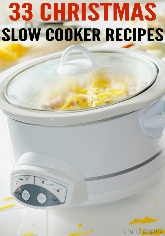 Crock Pot Christmas Dinner  33 Christmas Slow Cooker Recipes
