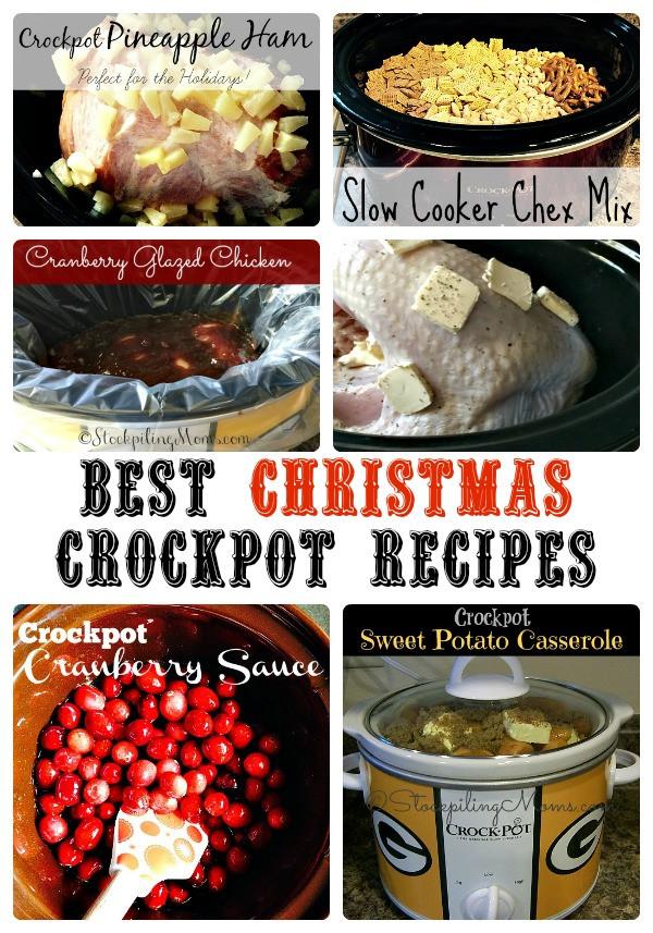 Crock Pot Christmas Dinner  Best Christmas Crockpot Recipes