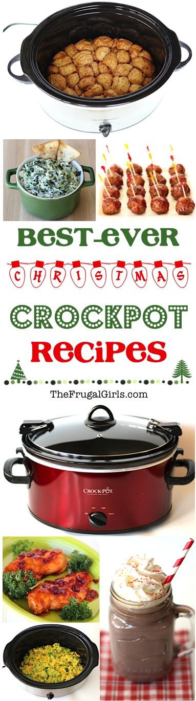 Crock Pot Christmas Dinner  Crockpot Christmas Recipes from TheFrugalGirls