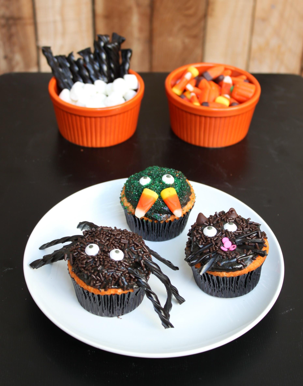Cupcakes For Halloween  Creepy Halloween Cupcakes