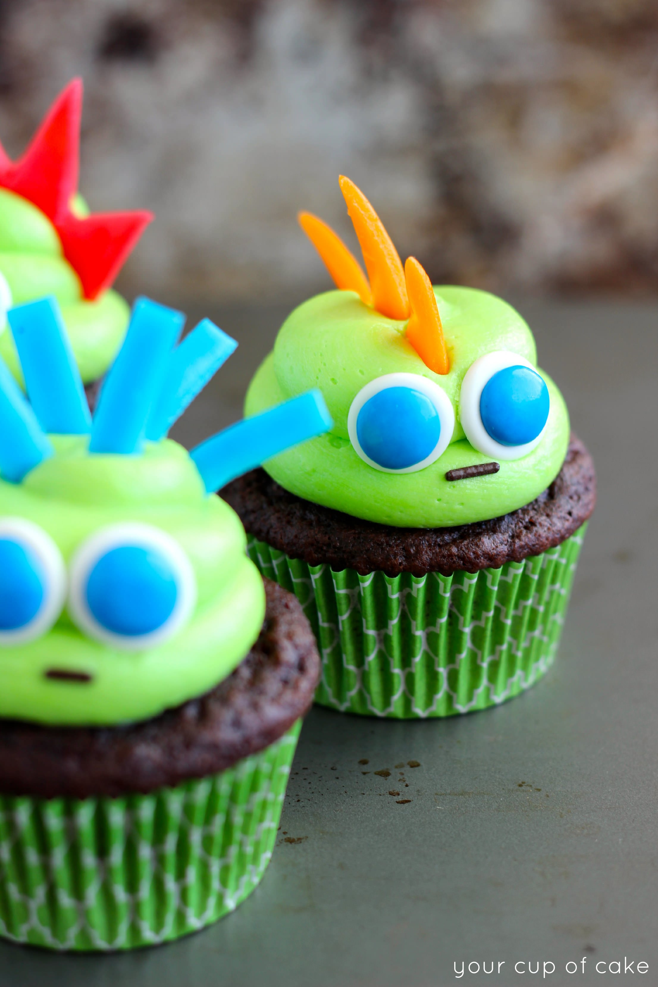 Cupcakes For Halloween  Easy Halloween Cupcake Ideas Your Cup of Cake