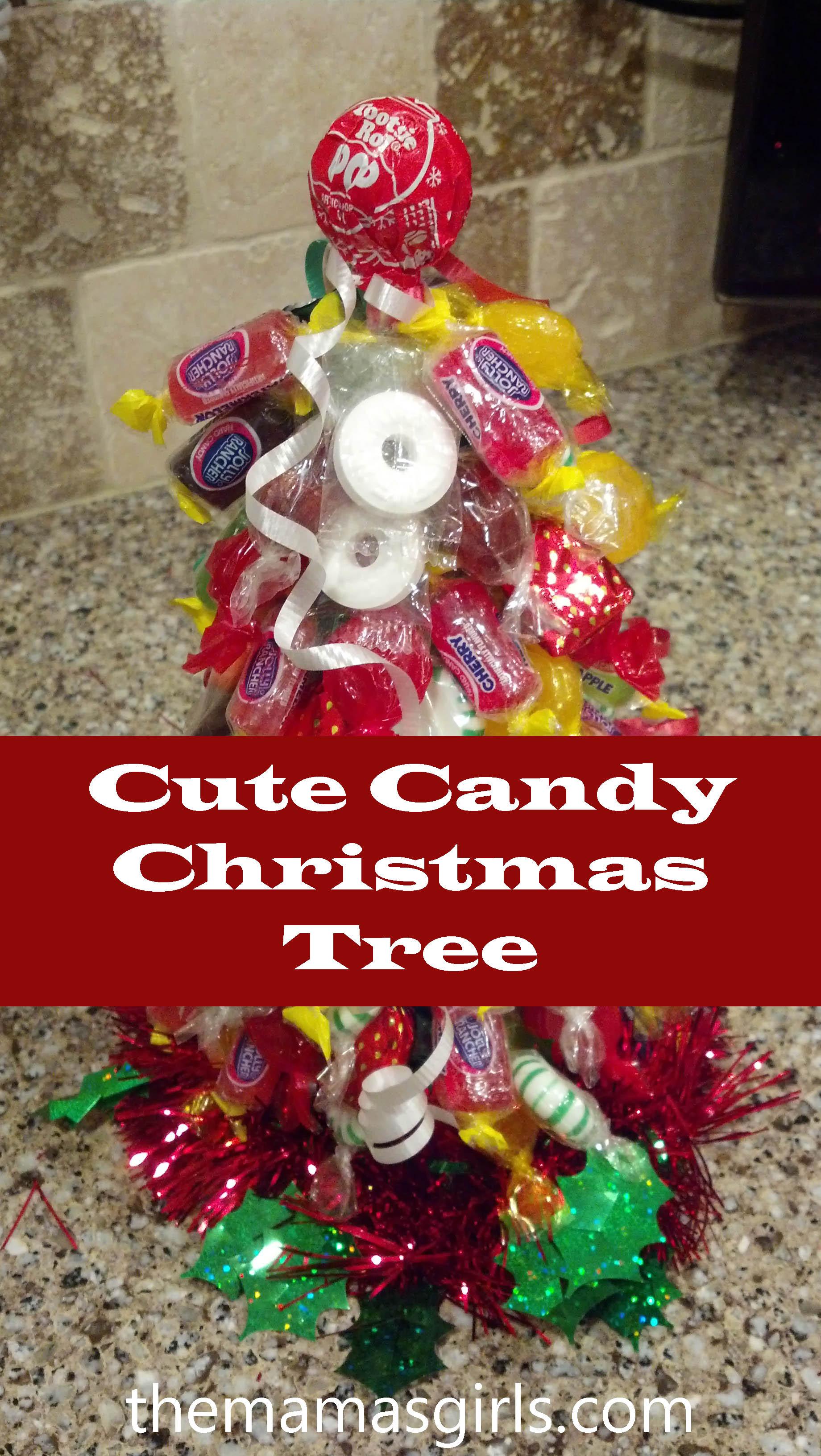 Cute Christmas Candy  Cute Candy Christmas Tree