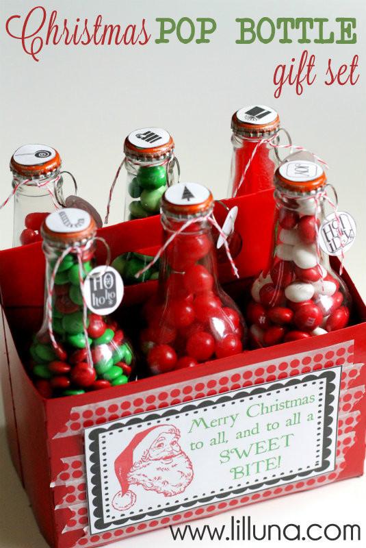Cute Christmas Candy Ideas  Easy Christmas Gift Ideas