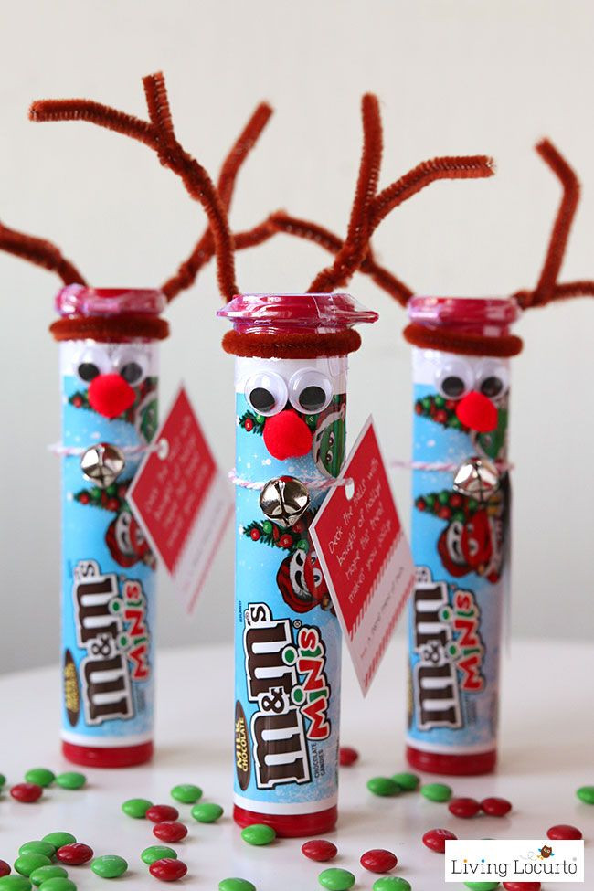 Cute Christmas Candy Ideas  Rudolph the Red Nosed Reindeer DIY Christmas Candy Cute