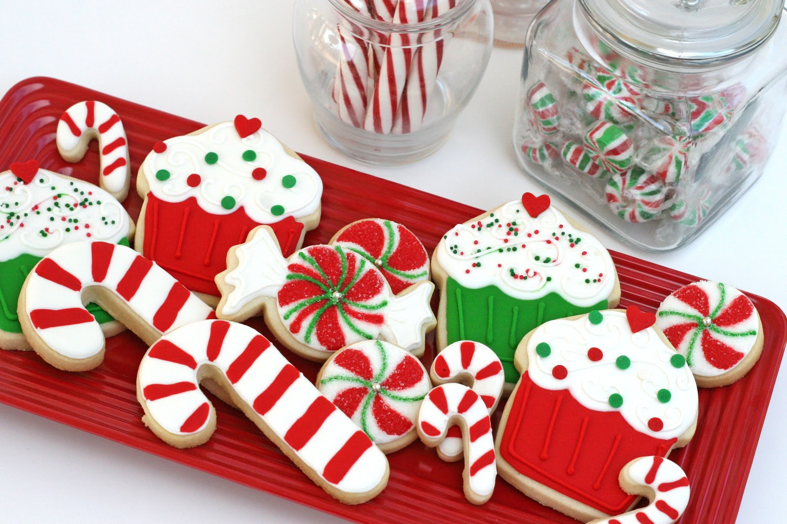 Cute Christmas Candy  Christmas Cookies Galore Glorious Treats