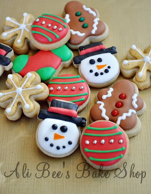 Cute Easy Christmas Cookies  25 best ideas about Cute Christmas Cookies on Pinterest