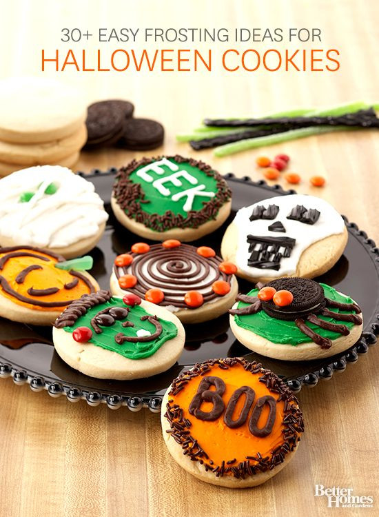 Cute Halloween Cookies  185 best images about Cute Halloween Treats on Pinterest