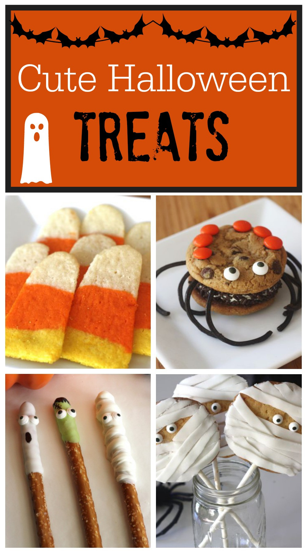 Cute Halloween Cookies  Cute Halloween Treats