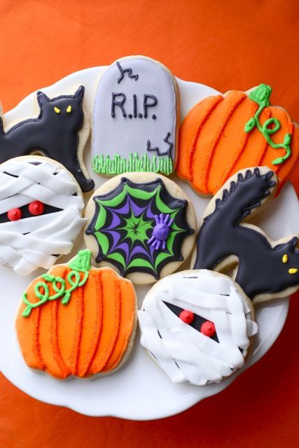 Cute Halloween Cookies  31 Easy Halloween Cookies Recipes & Ideas for Cute