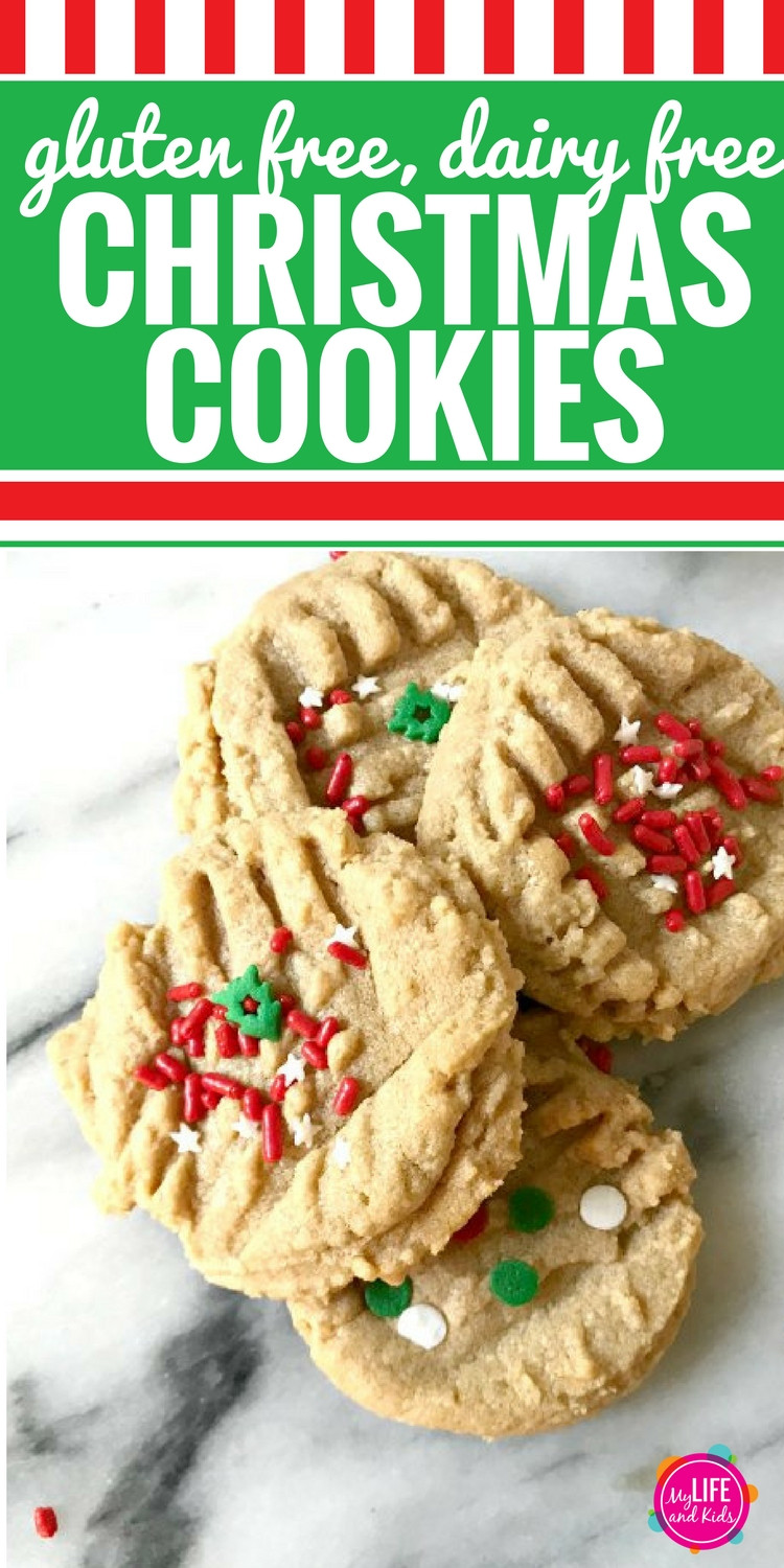 Dairy Free Christmas Cookies  Recipes My Life and Kids