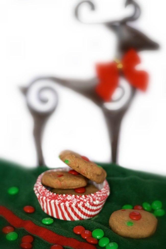 Dairy Free Christmas Cookies  Children s Favorite Gluten Free M&M Cookies The Best of