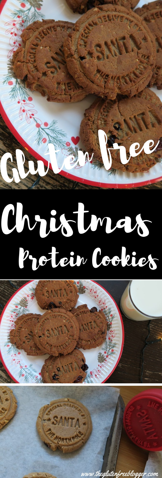 Dairy Free Christmas Cookies  Gluten and dairy free Christmas spiced protein cookies