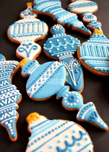 Decorated Christmas Cookies Pinterest  Christmas cookies Decorated blue