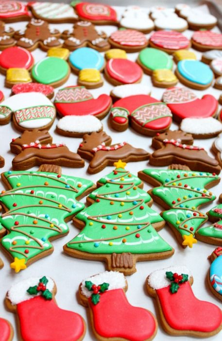 Decorated Christmas Cookies Pinterest  Decorated Christmas Cookies Sweetopia Posts