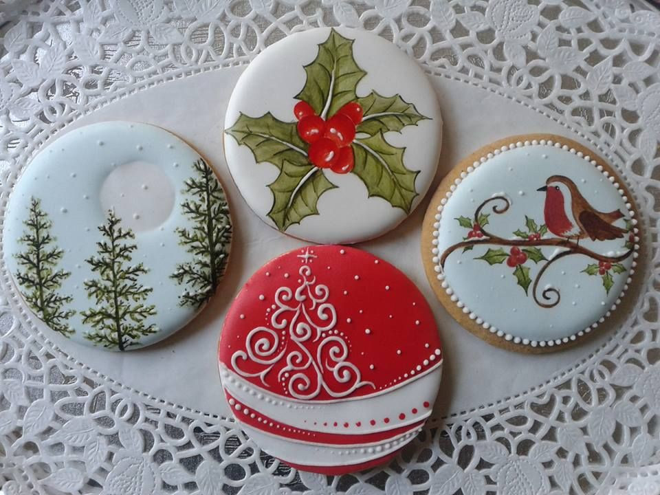 Decorated Christmas Cookies Pinterest  Pin by Emily Snodgrass on Christmas Cookie Decorating