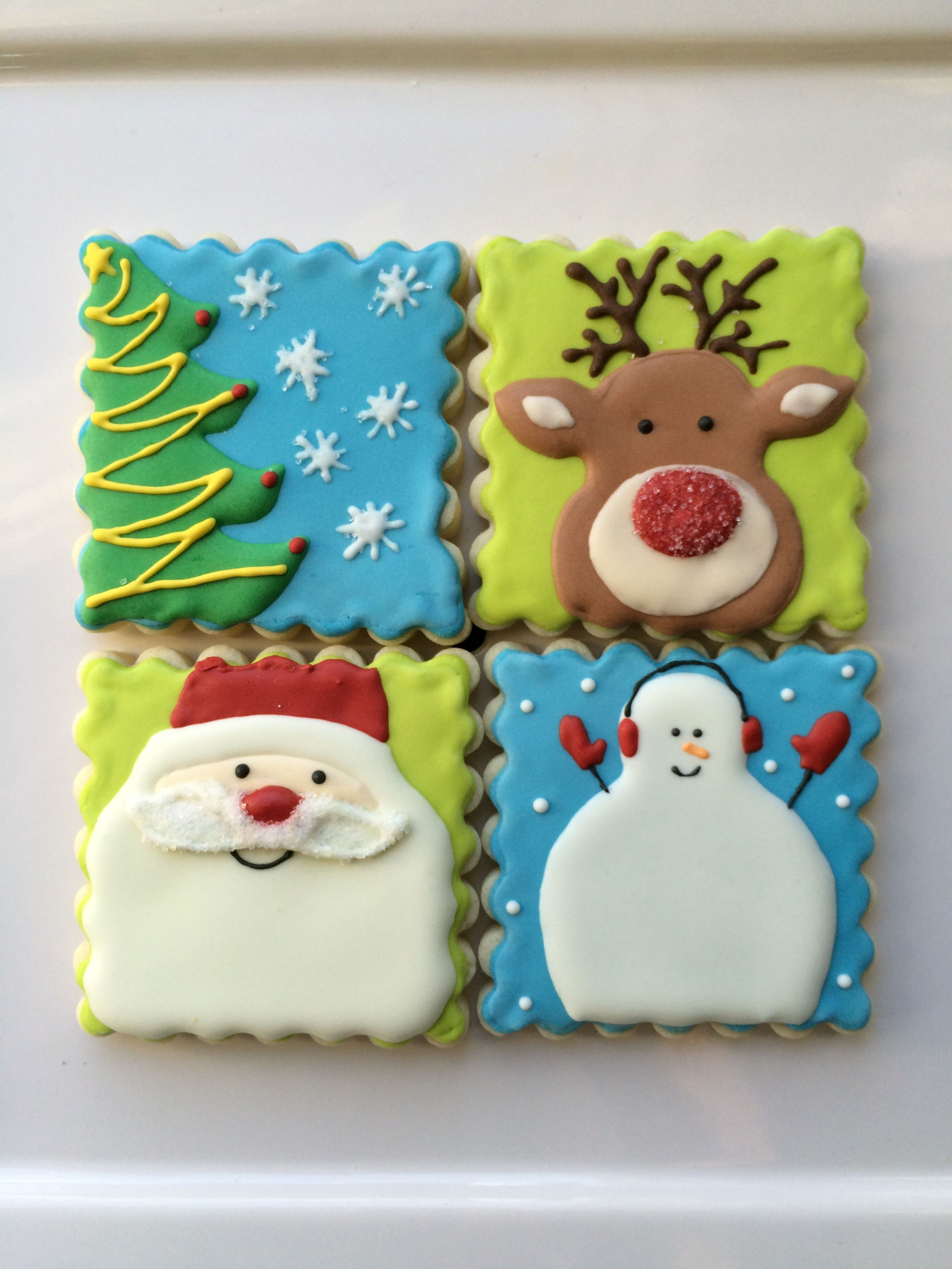 Decorated Christmas Cookies Pinterest  decorated Christmas cookies decorated sugar cookies