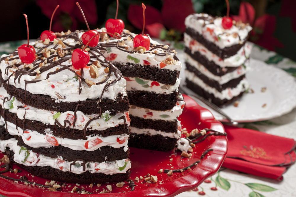 Dessert For Christmas  Jingle Bell Torte