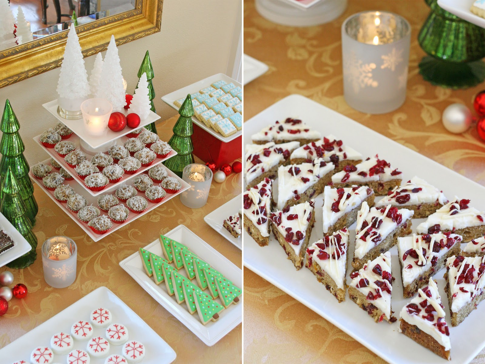 Desserts For Christmas  Classic Holiday Dessert Table Glorious Treats