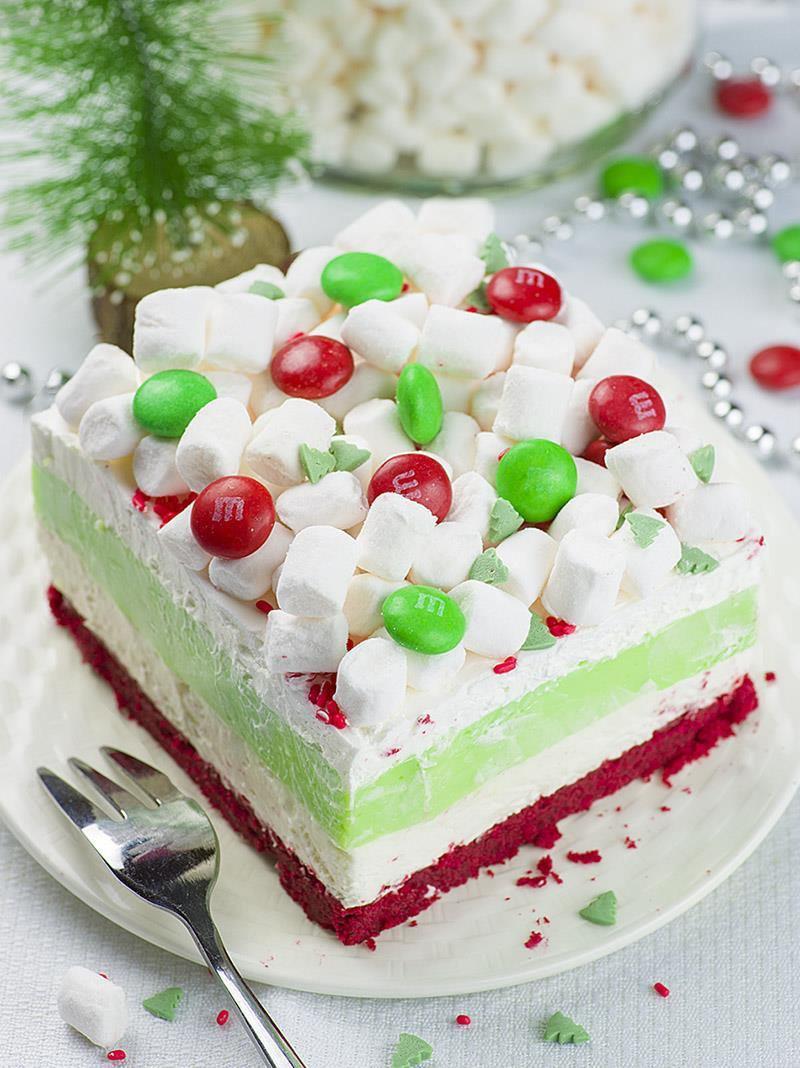 Desserts For Christmas  Christmas Lasagna