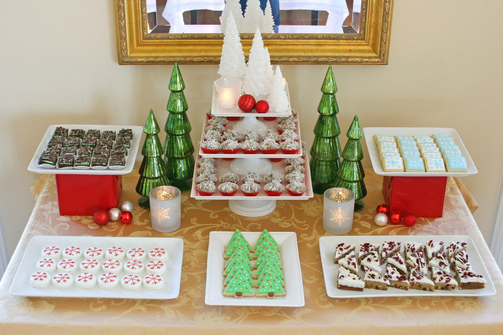 Desserts For Christmas Party  Classic Holiday Dessert Table Glorious Treats