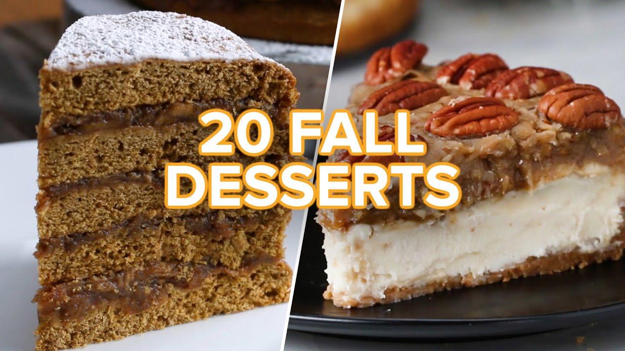 Desserts For Fall  20 Tasty Fall Desserts