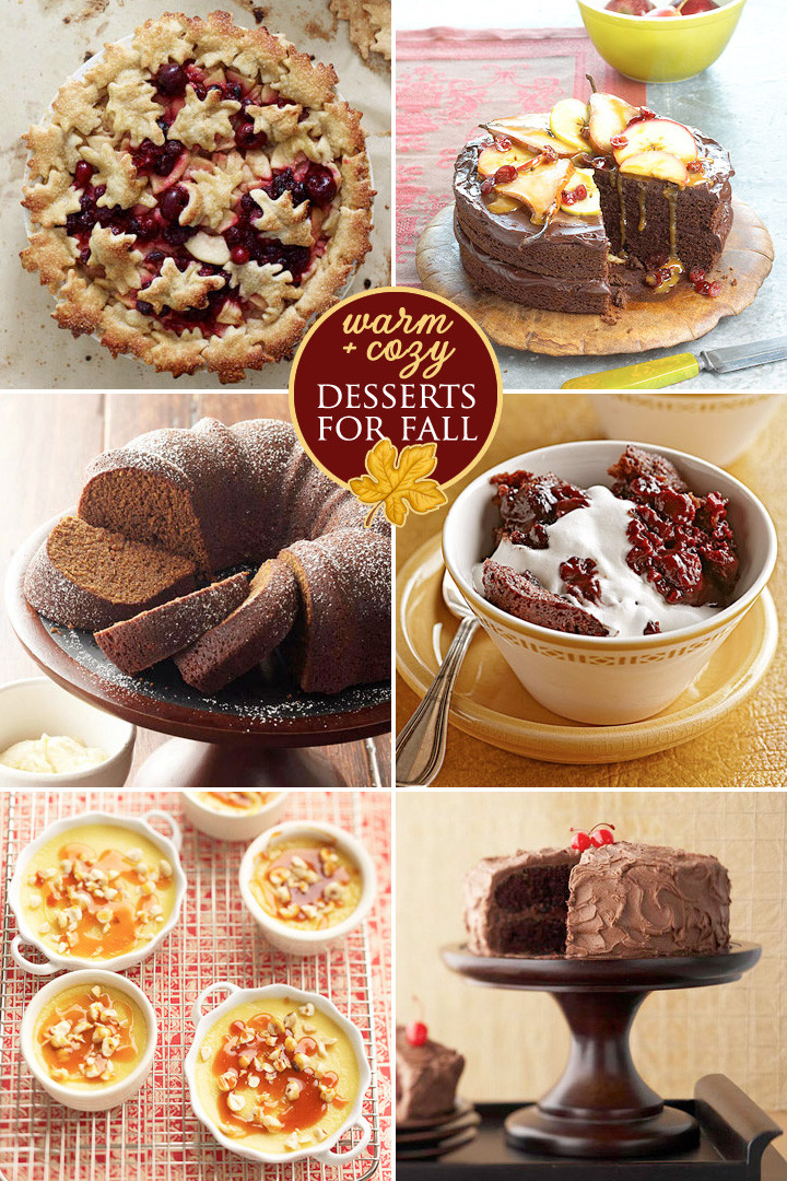 Desserts For Fall  Warm and Cozy Desserts for Fall Weddings