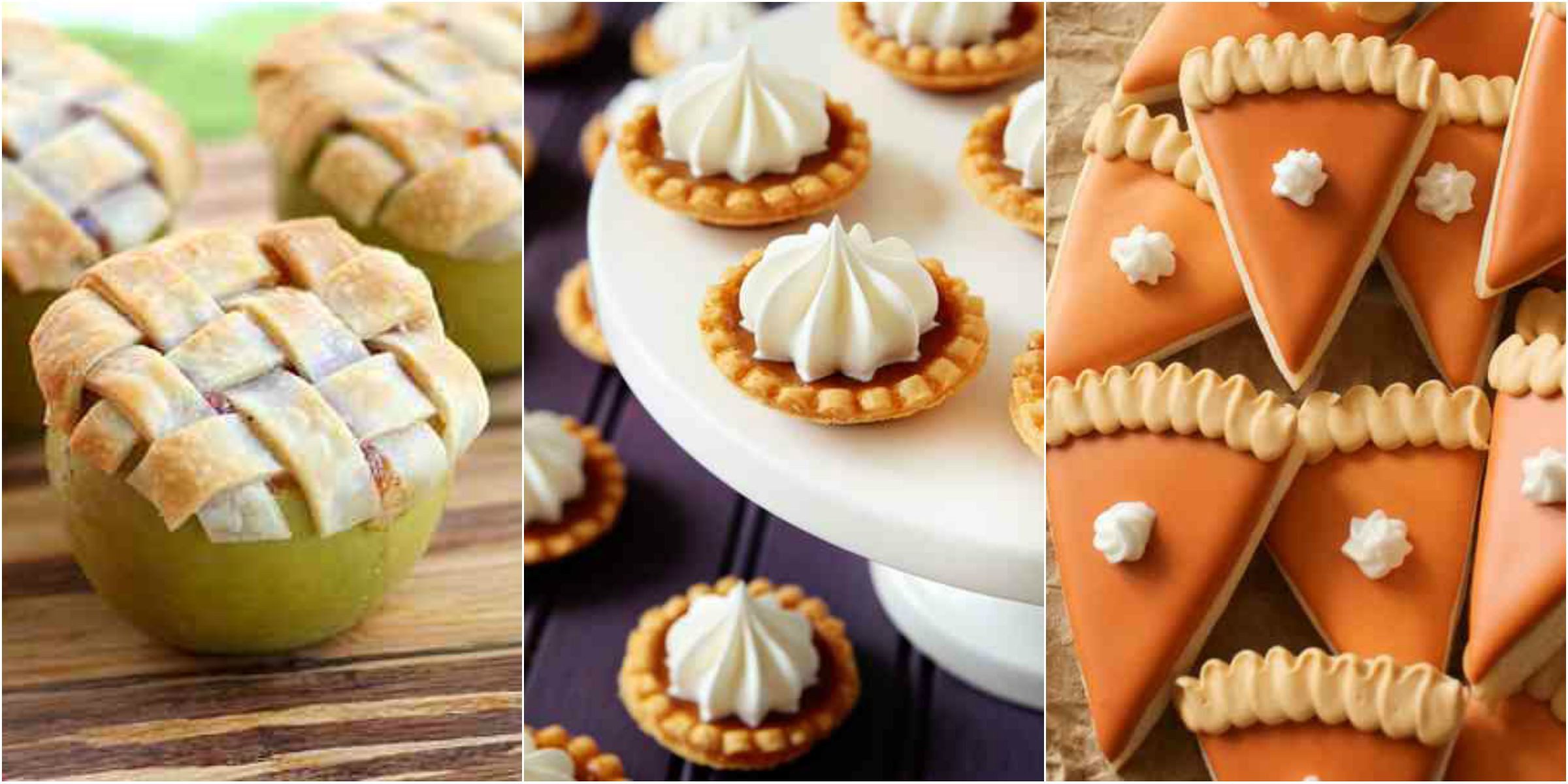 Desserts For Fall  Mini Fall Desserts Miniature Dessert Recipes