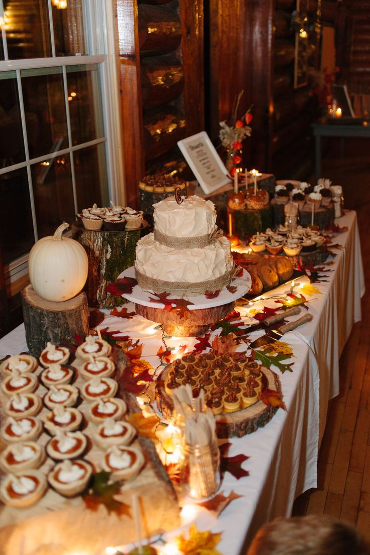 Desserts For Fall  25 best ideas about Fall Wedding Desserts on Pinterest