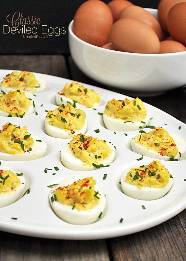 Deviled Eggs For Thanksgiving  Charleston SC Thanksgiving Appetizers Sides