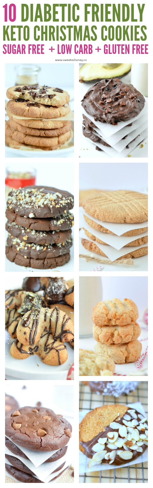 Diabetic Christmas Cookies Recipes  Diabetic Christmas Cookies Keto gluten free Sweetashoney
