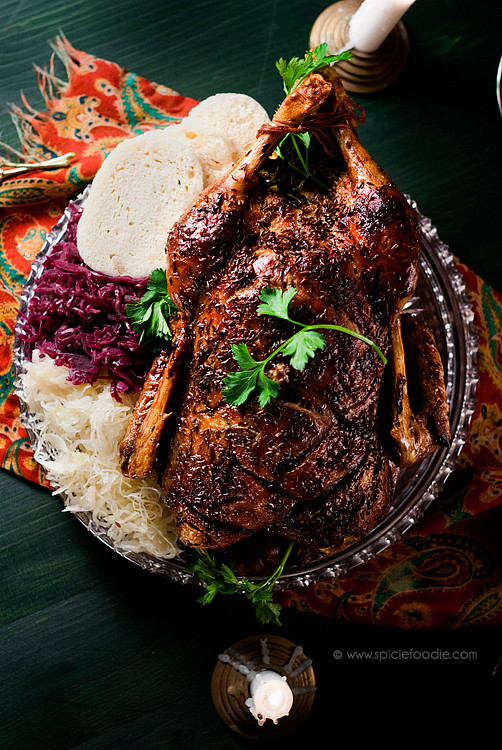 Duck Recipes For Thanksgiving  Czech Roasted Duck A Christmas Tradition