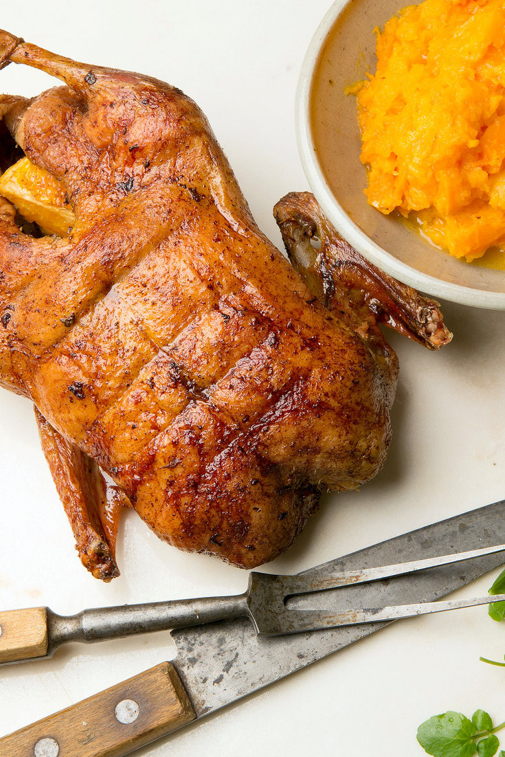 Duck Recipes For Thanksgiving  Roast Duck with Orange and Ginger Recipe NYT Cooking