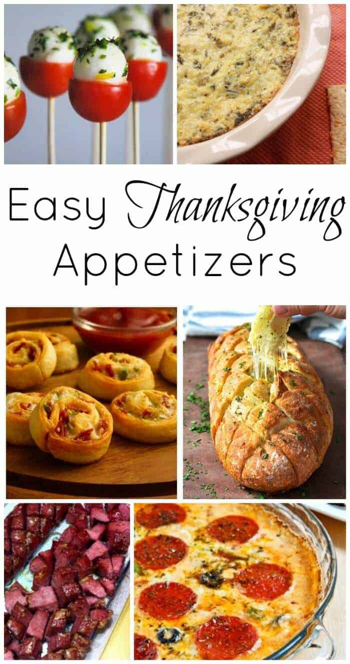 Easy Appetizers For Thanksgiving  Thanksgiving Course 1 Easy Thanksgiving Appetizers