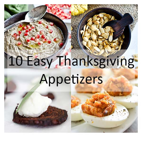 Easy Appetizers For Thanksgiving  10 Easy Thanksgiving Appetizers