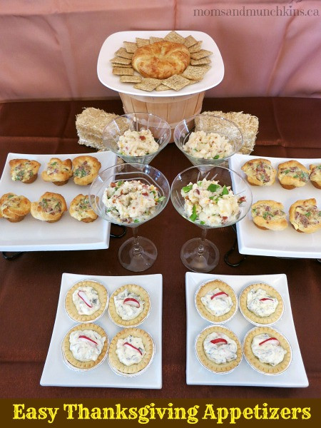 Easy Appetizers For Thanksgiving  Easy Thanksgiving Appetizers Moms & Munchkins