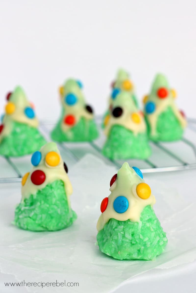 Easy Bake Christmas Cookies  No Bake Christmas Tree Cookies The Recipe Rebel