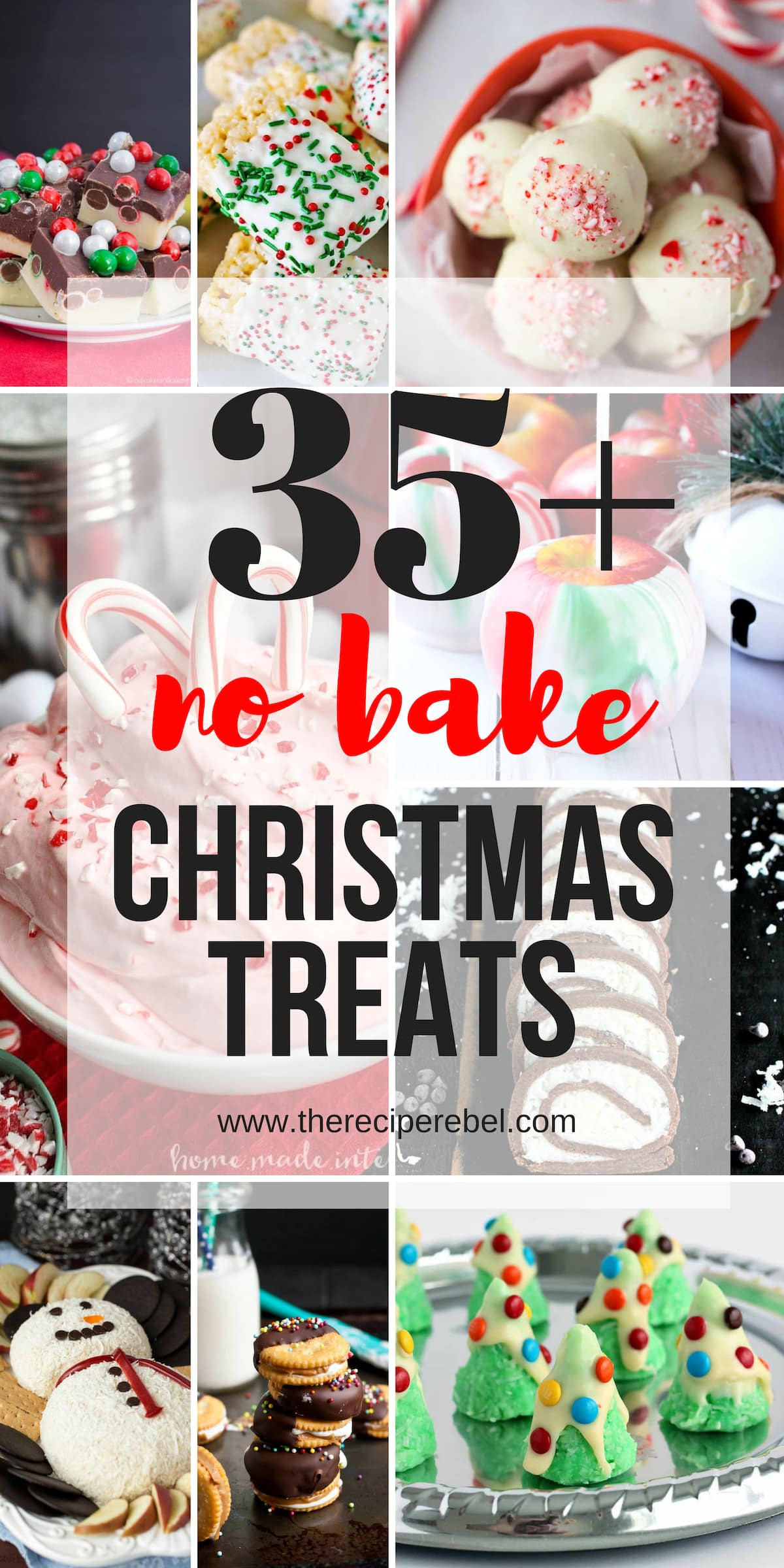 Easy Bake Christmas Cookies  25 Easy Christmas Treats no bake Christmas cookies