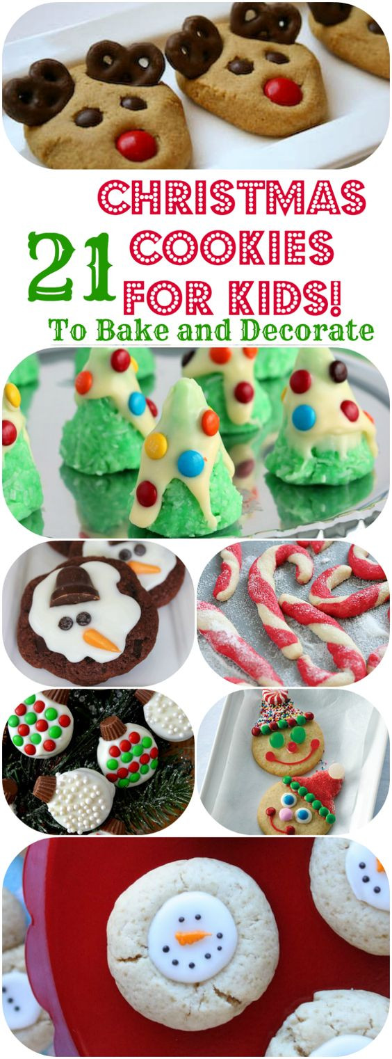 Easy Christmas Baking Ideas  Cookies for kids Christmas cookies and Easy christmas